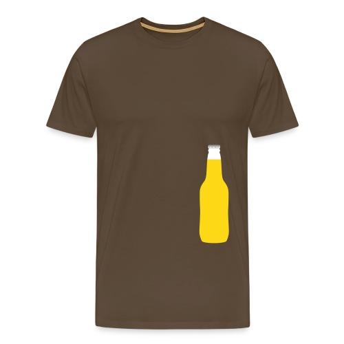 Bierflasche - Männer Premium T-Shirt