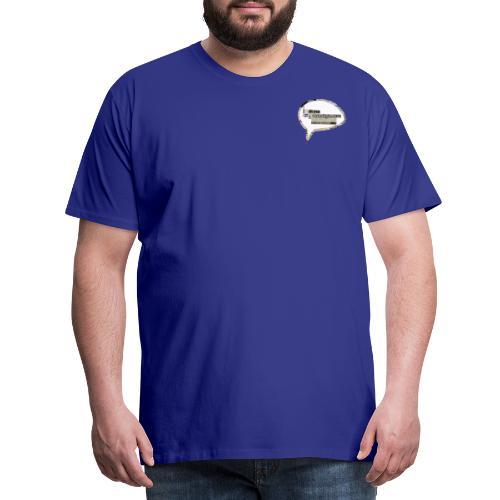 ISkyenOgIVirkeligheden - Herre premium T-shirt