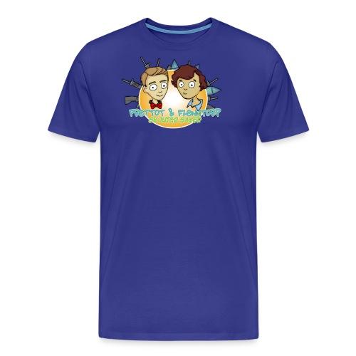 skjuter saker logga png - Premium-T-shirt herr