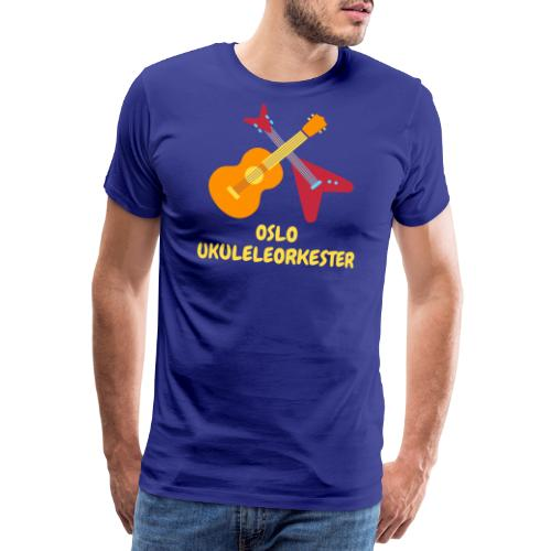 Oslo Ukuleleorkester - Premium T-skjorte for menn