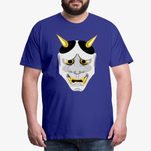 Demon Mask White - Men's Premium T-Shirt