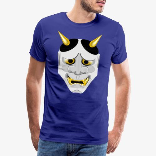 Demon Mask White - Men's Premium T-Shirt