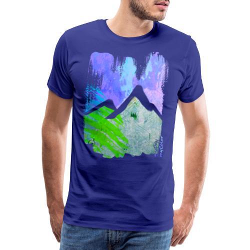 BergMorgen - Männer Premium T-Shirt