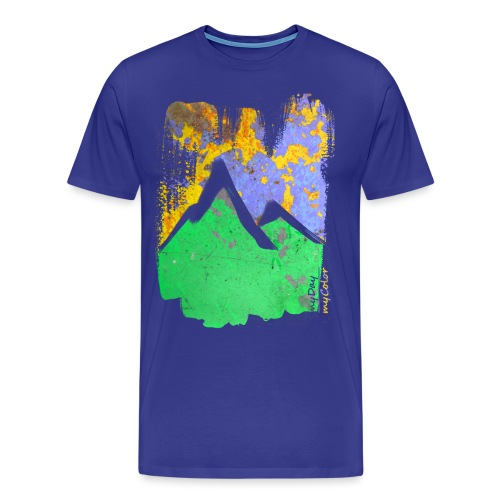 BergAbend - Männer Premium T-Shirt