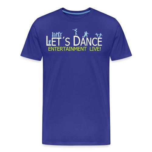 lets dance logo neu - Männer Premium T-Shirt