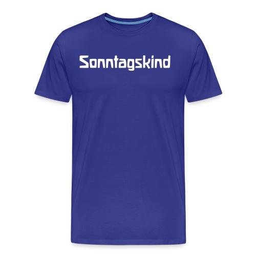 Sonntagskind - Männer Premium T-Shirt