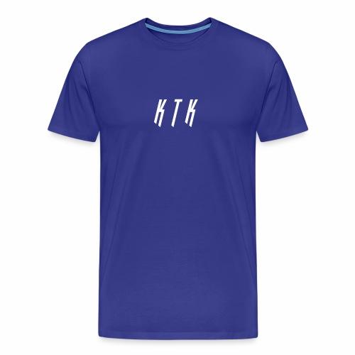 KTK White Design - Men's Premium T-Shirt