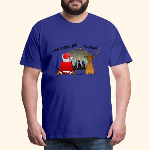 soon it starts - Männer Premium T-Shirt