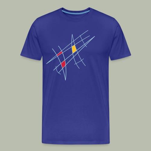 Design 50er Jahre - Männer Premium T-Shirt
