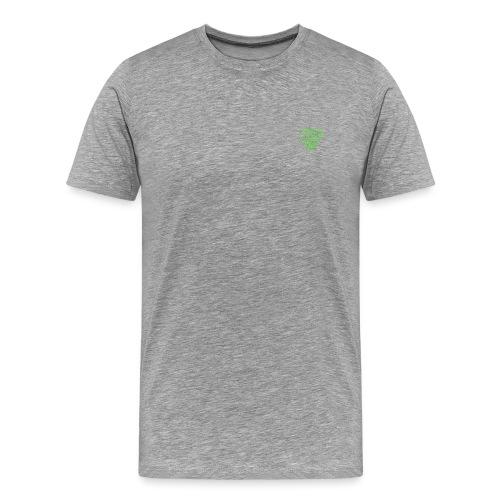 poco loco logo green - Men's Premium T-Shirt