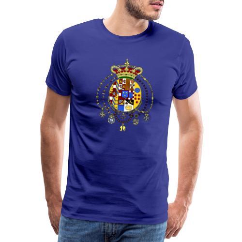 regno delle due sicilie - Maglietta Premium da uomo