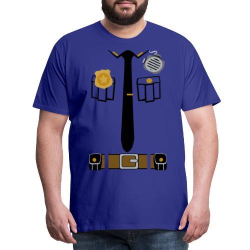 Police Patrol Costume - Men's Premium T-Shirt