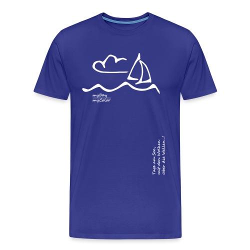 Über die Wellen!.. - Männer Premium T-Shirt