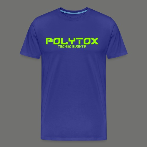 POLYTOX Techno Events Merch - Männer Premium T-Shirt
