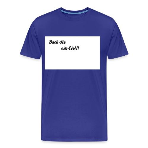 Back dir ein Eis - Männer Premium T-Shirt