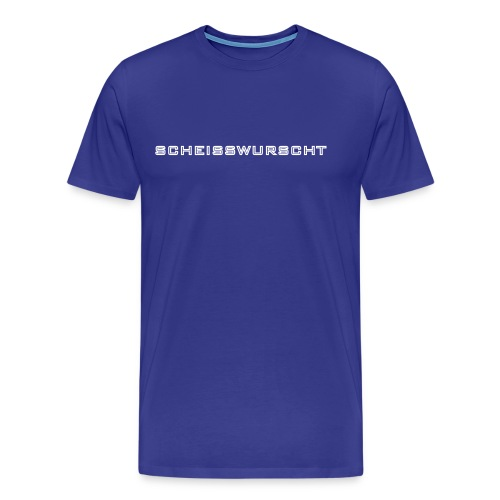 scheisswurscht - Männer Premium T-Shirt