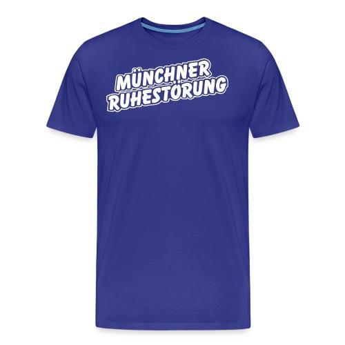 schrift lila - Männer Premium T-Shirt