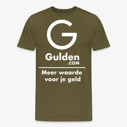 NLG - Gold Cryptocurrency - Early Adopter - Men's Premium T-Shirt