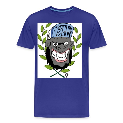 Vegan Gorilla - Männer Premium T-Shirt