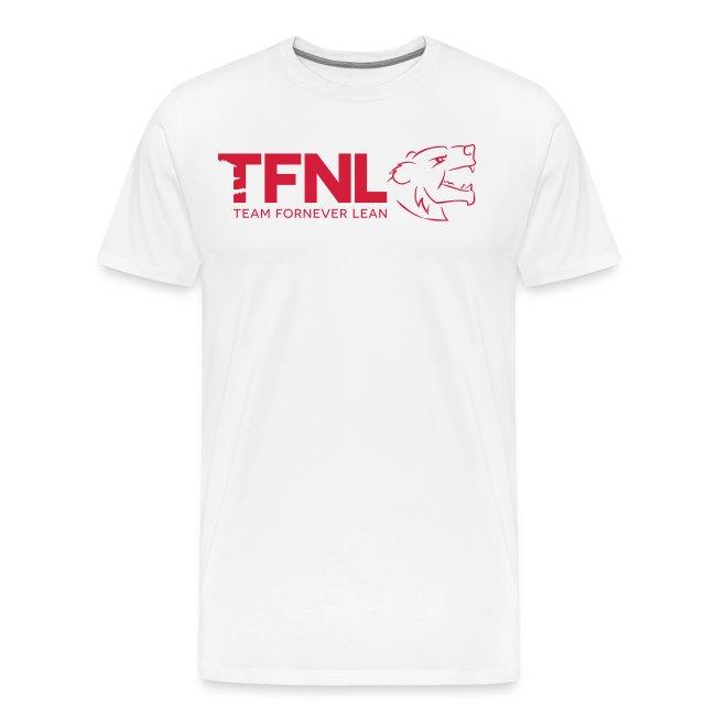 TFNL Red/Navy Logo Tee