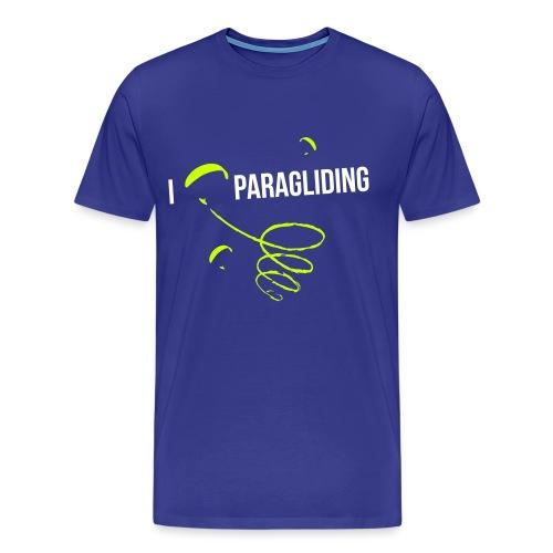 I LOVE PARAGLIDING GLEITSCHIRMFLIEGEN 2 - Männer Premium T-Shirt