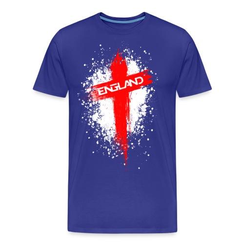 England Painted-Red - Men's Premium T-Shirt