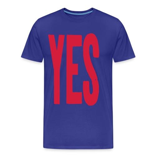 yes2 - Men's Premium T-Shirt