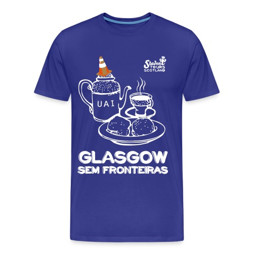 Glasgow Without Borders Brazil Minas Gerais 2 - Men's Premium T-Shirt