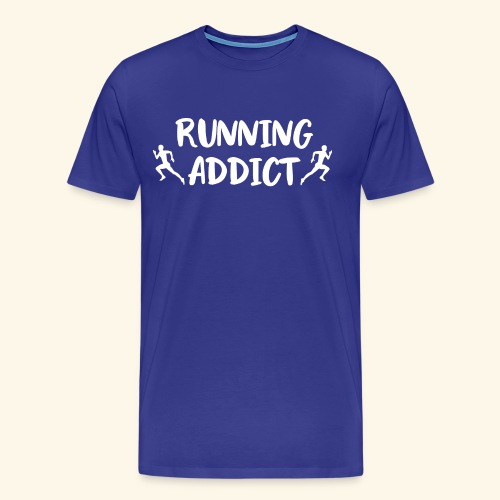 Running Addict Men Männer süchtig nach Laufen - Männer Premium T-Shirt