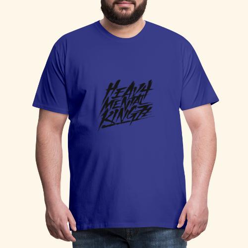 Heavy Mental KingZz Logo - Männer Premium T-Shirt