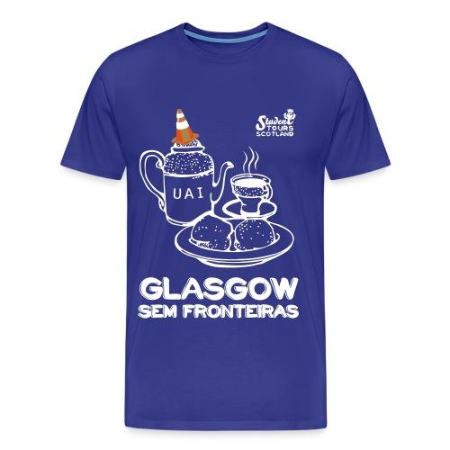 Glasgow Without Borders Brazil Minas Gerais 2 - Men's Premium T-Shirt