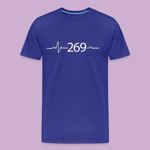 269 - RESPEKTIERE LEBEN - Männer Premium T-Shirt