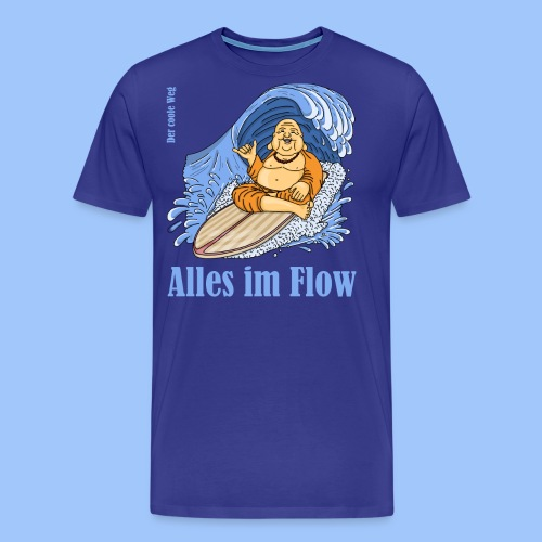 alles im flow - Männer Premium T-Shirt