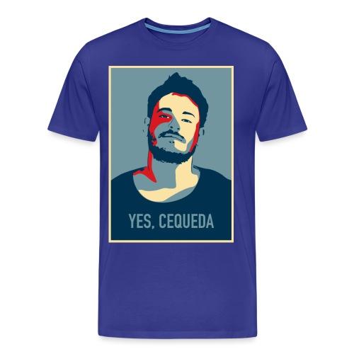 YES, CEQUEDA - Camiseta premium hombre