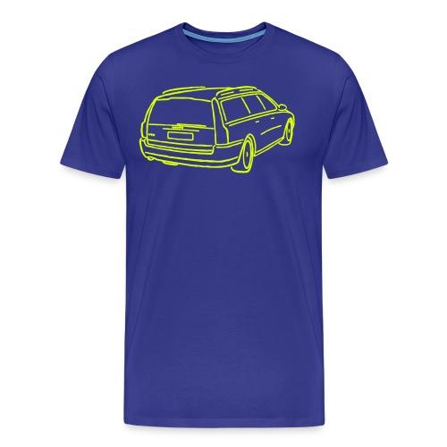 volvo v70ii e - Männer Premium T-Shirt
