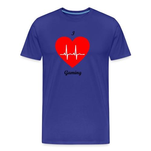 Ilovegaming - Männer Premium T-Shirt