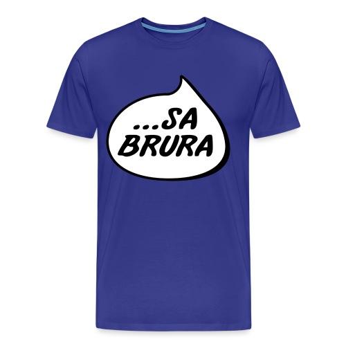 ...sa brura - Premium T-skjorte for menn
