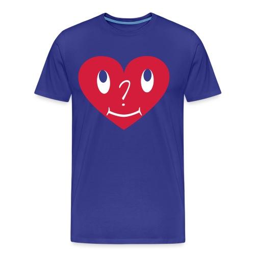 S_Grafik_Herz_C2_REV19091 - Männer Premium T-Shirt