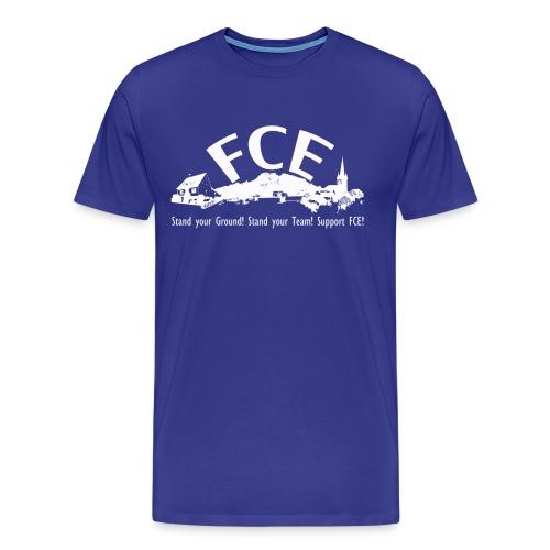 fanshirt stand your ground 3000x1800 dru - Männer Premium T-Shirt