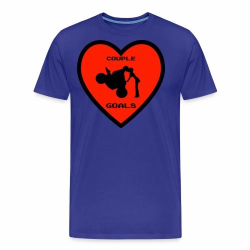 Couple Goals <3 - Maglietta Premium da uomo