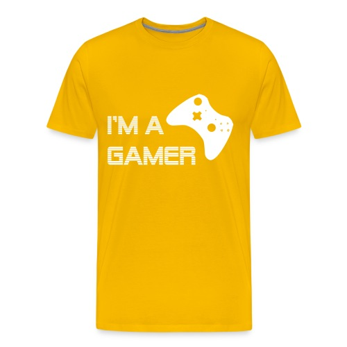 Im a gamer - Men's Premium T-Shirt