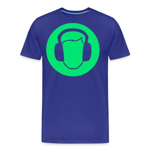 MUSIC png - Männer Premium T-Shirt
