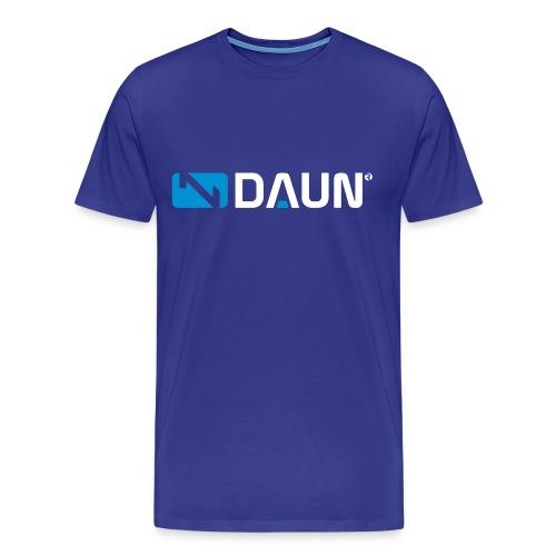 daun logo trademark querkant - Männer Premium T-Shirt