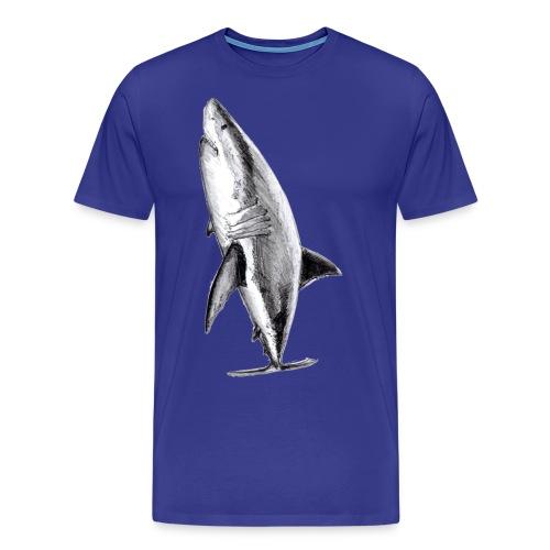Gran tiburón blanco - Great white shark - Camiseta premium hombre