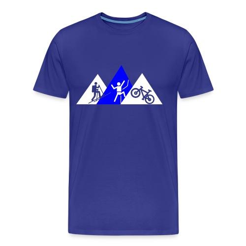 Berg-Triathlon - Männer Premium T-Shirt
