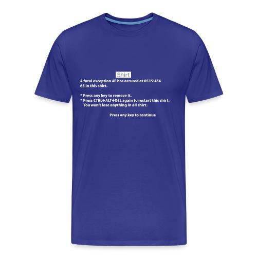 BSOD - Blue Screen of Death - Windows - T-shirt Premium Homme