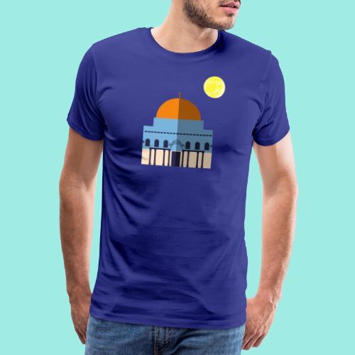 Moon over Quds - Männer Premium T-Shirt