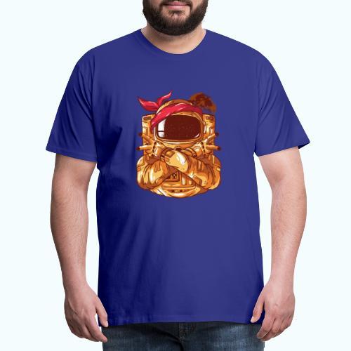 Rebel astronaut - Men's Premium T-Shirt