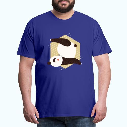 Yoga Panda - Men's Premium T-Shirt