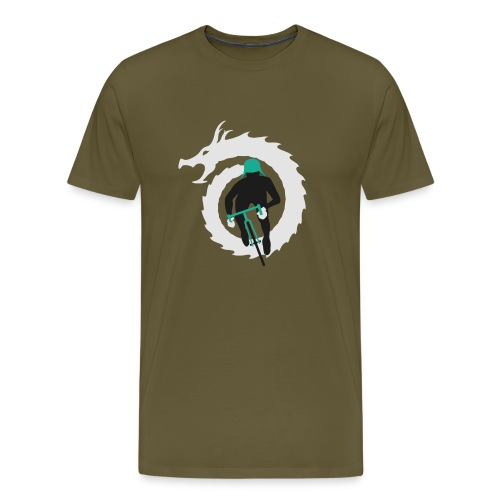 Shirt Green and White png - Men's Premium T-Shirt